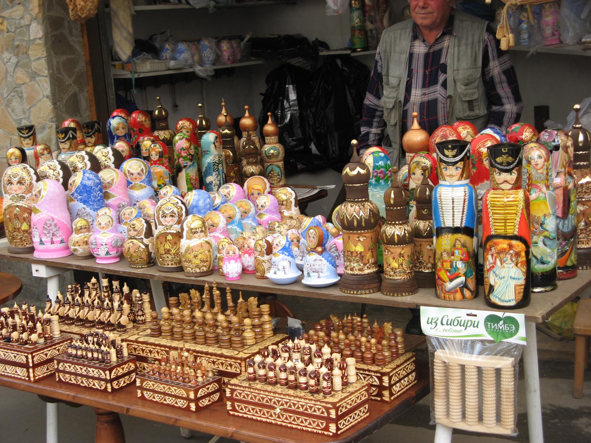Сувениры, Измайловский Кремль, Москва