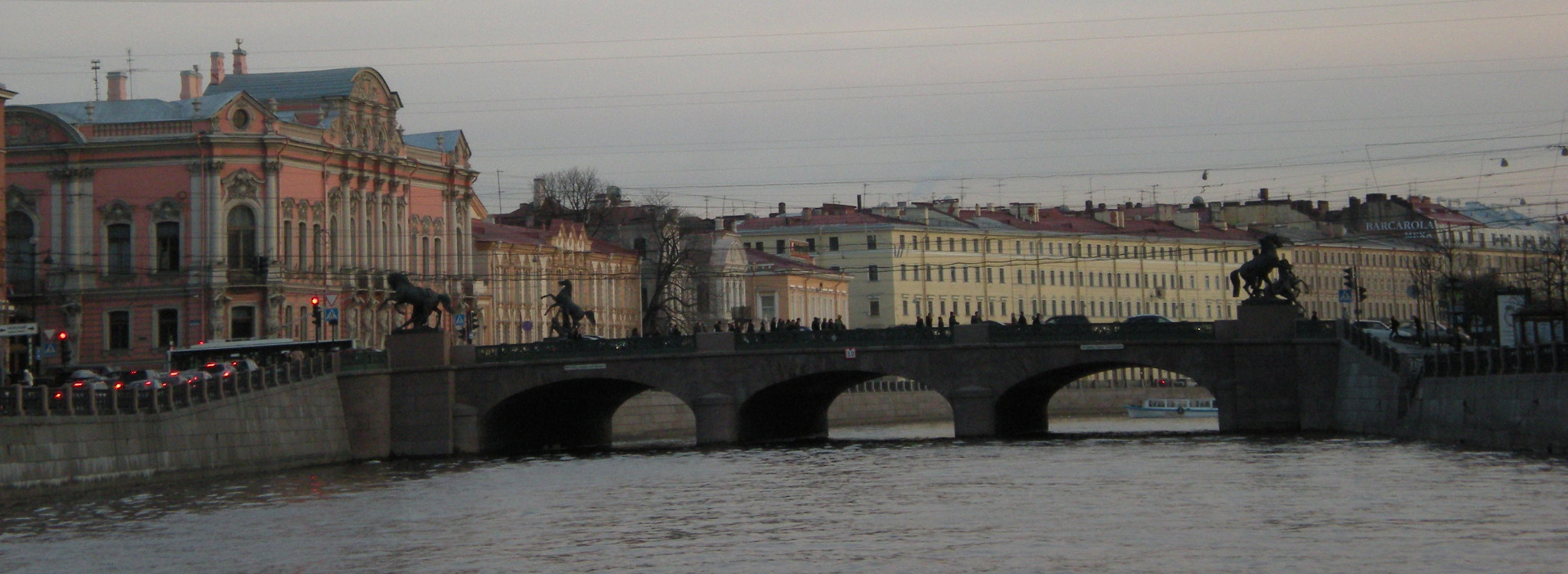 Вид на Аничков мост, Санкт-Петербург