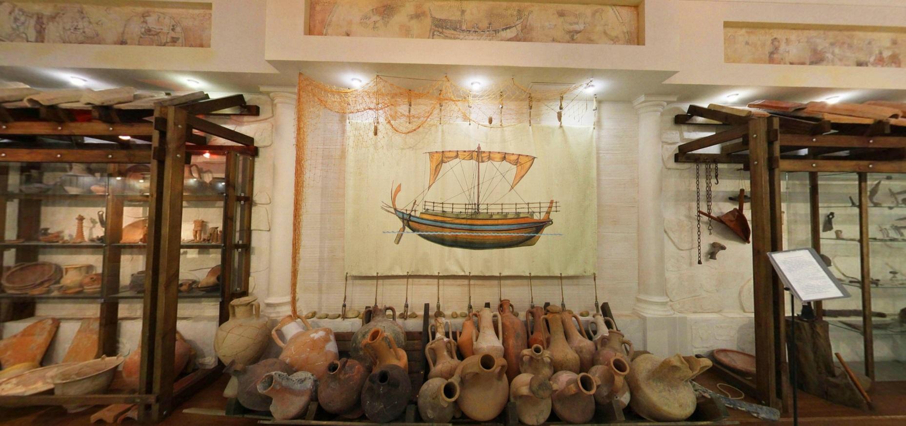 Зал гончарного искусства, Музей Горгиппия в Анапе