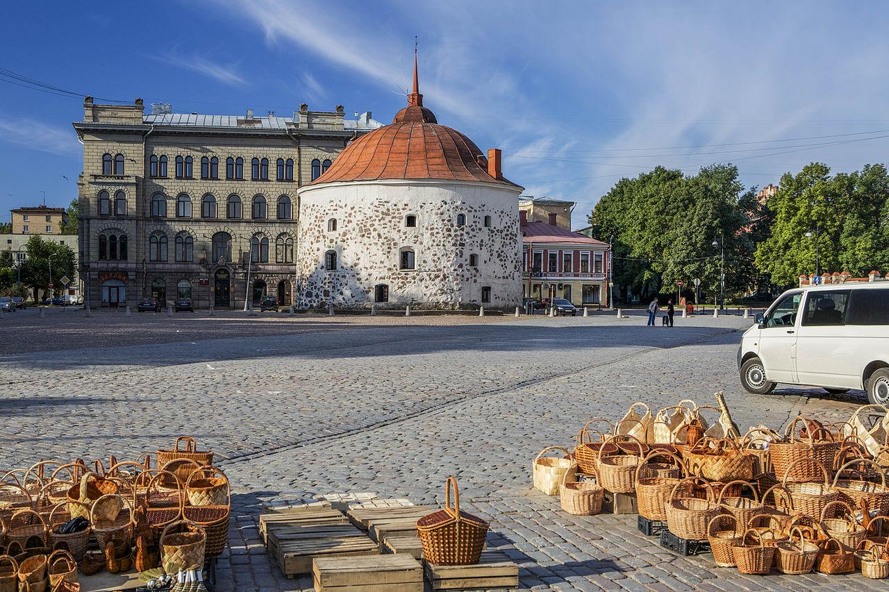 Круглая башня на Рыночной площади, Выборг