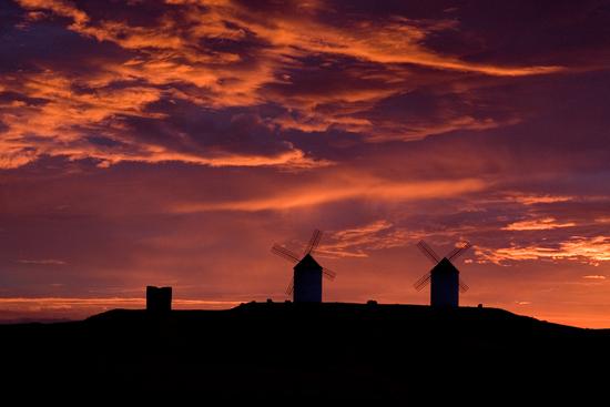 Панорамный закат в Толедо