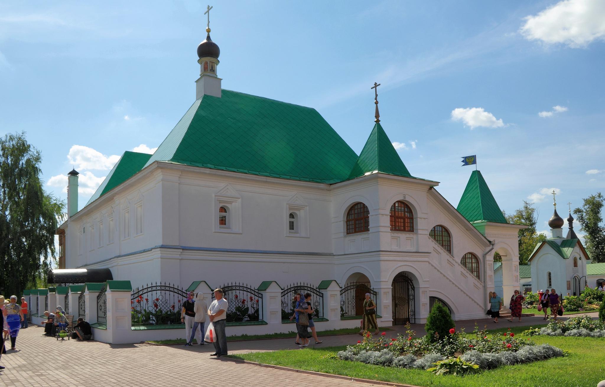 Настоятельские палаты, Муромский Спасо-Преображенский монастырь