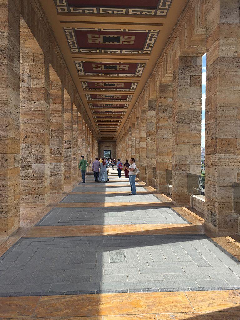 Аныткабир, мавзолей Мустафы Кемаля Ататюрка
