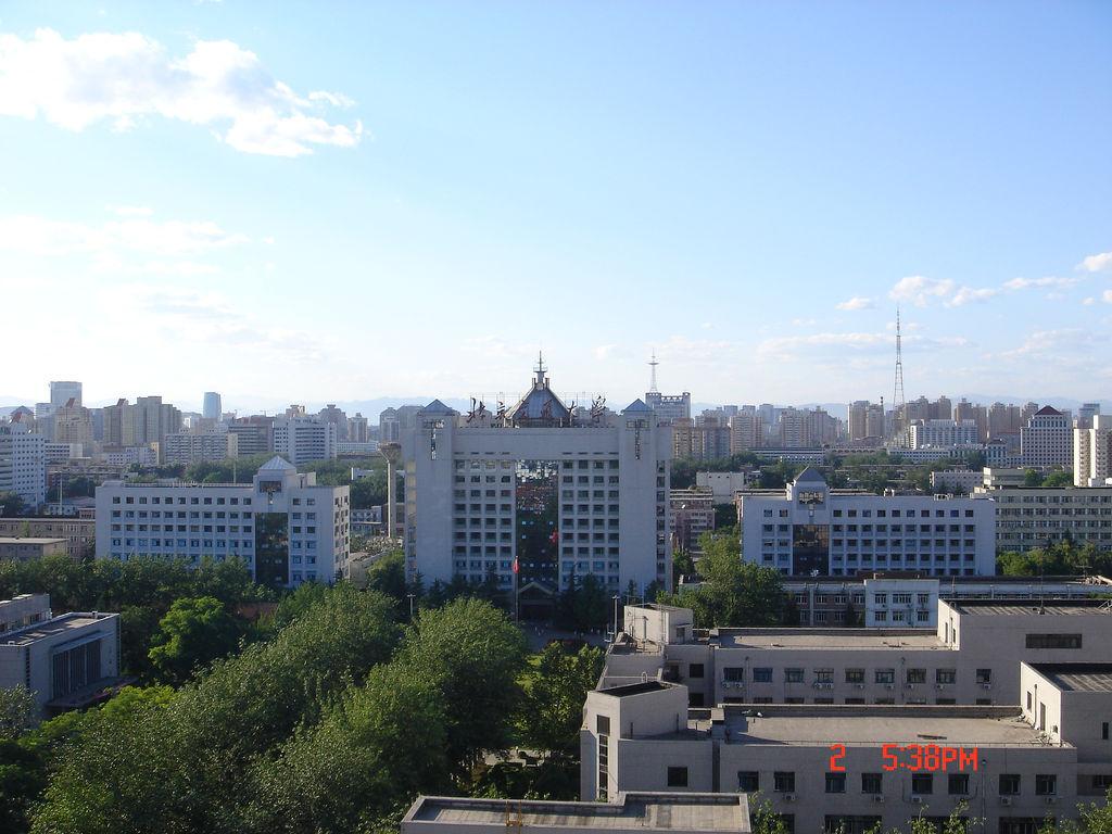 Вид на Пекинский университет