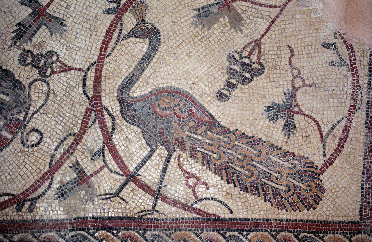 Гора Небо, фрагмент мозаики