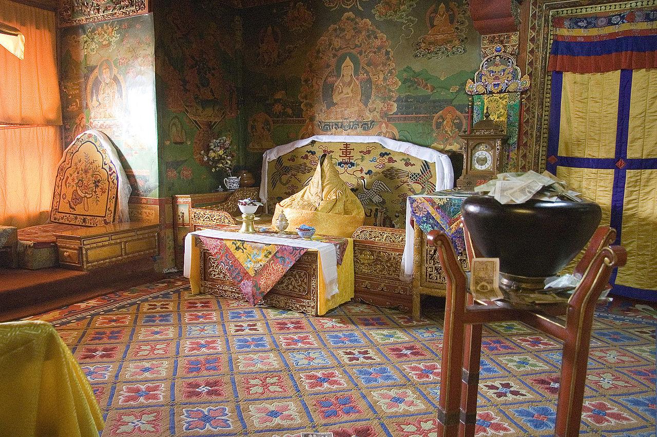 Дворец Потала, бывшая резиденция Далай-ламы