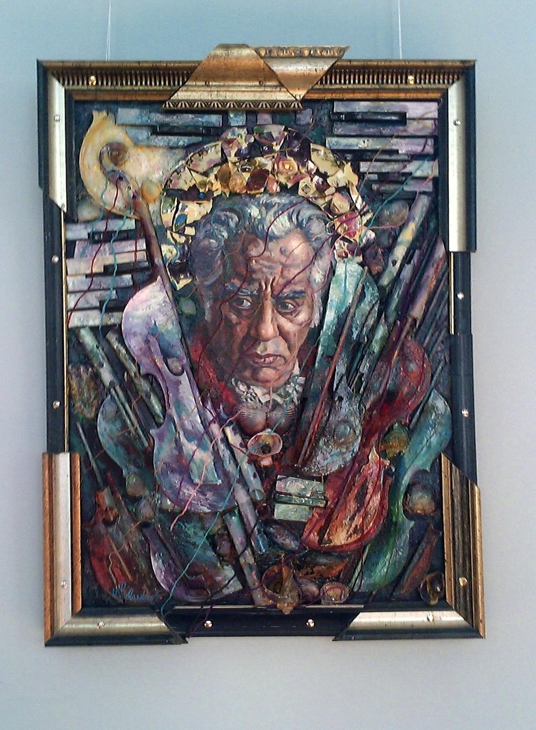 Дом-музей Арама Хачатуряна, портрет композитора