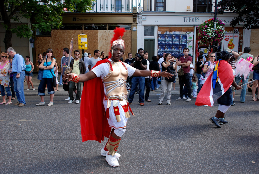 Карнавал в районе Ноттинг-Хилл, Лондон