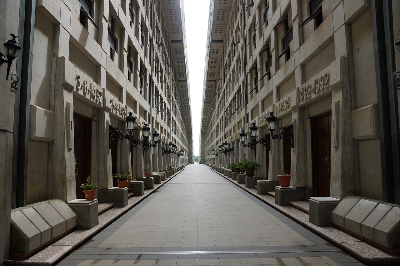 Маяк Колумба, коридор