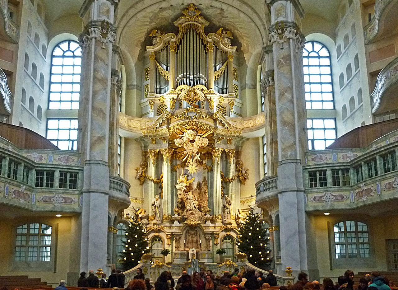 Церковь Фрауэнкирхе, рождественское убранство