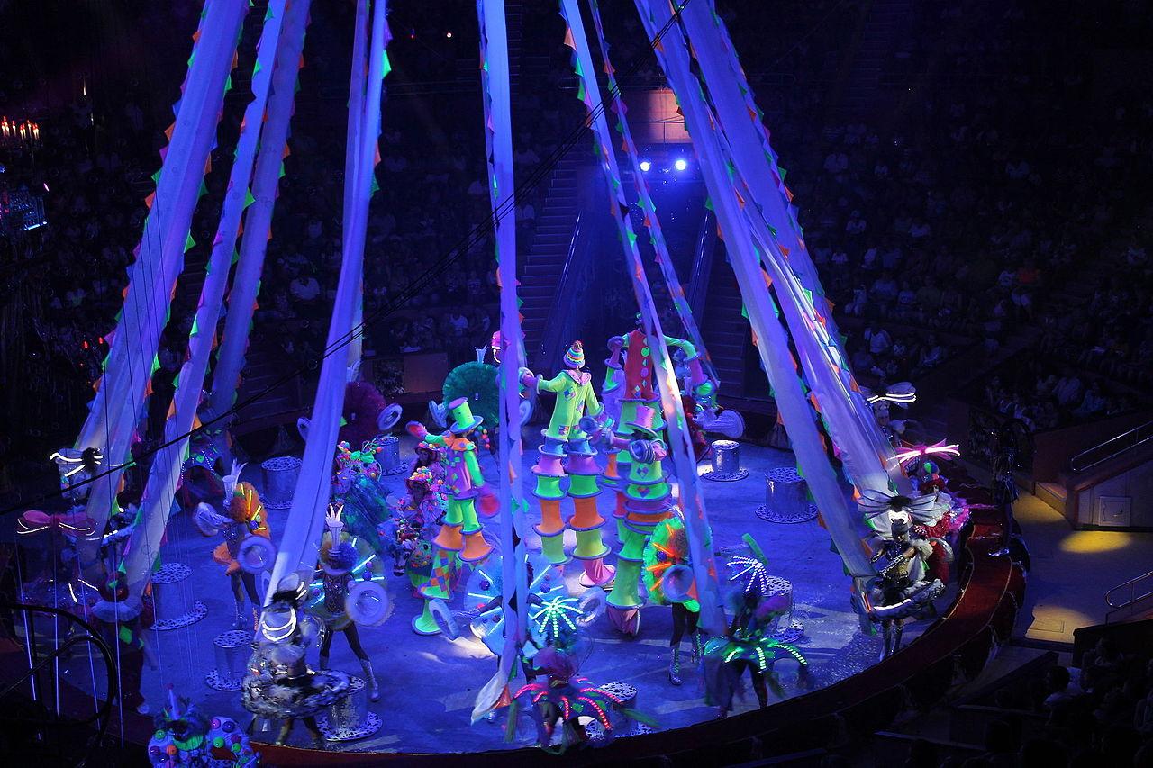 Цирковое представление в Сочинском цирке