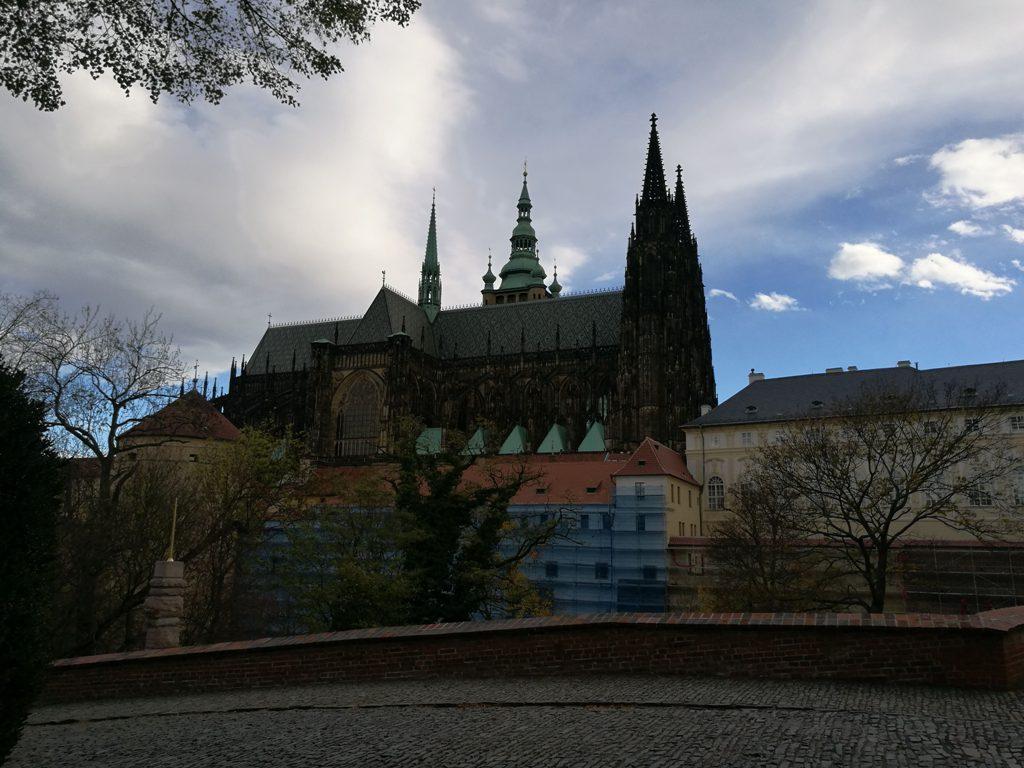 Вид на Собор Святого Вита в Праге