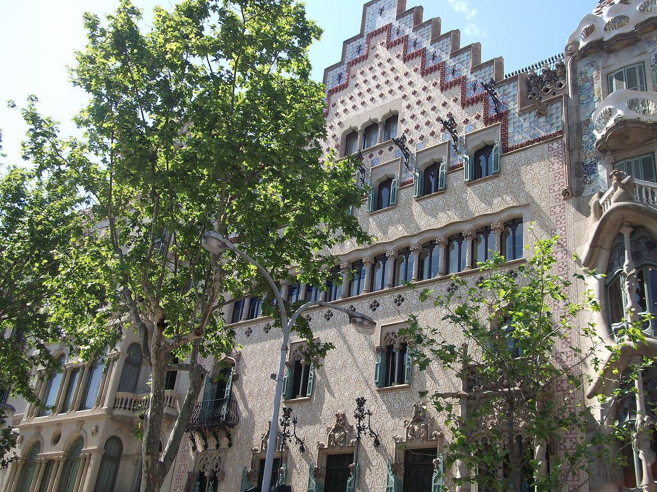 Дом Амалье, Барселона