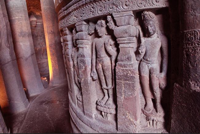 Пещерный монастырь Аджанта