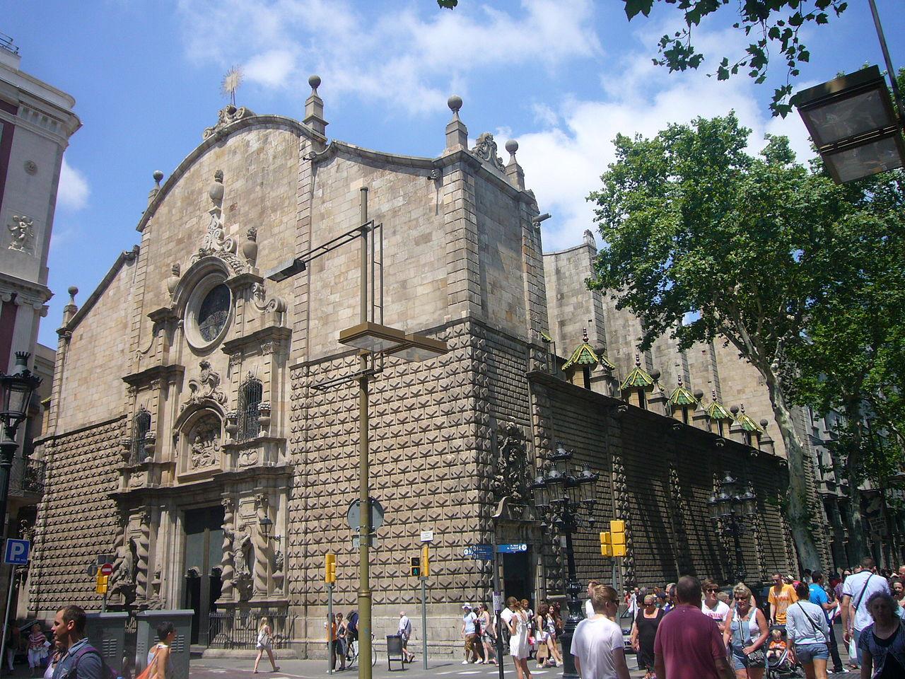 Бульвар Рамбла, церковь Богоматери Вифлеемской