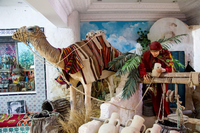 Залы Музея истории Хаммамета