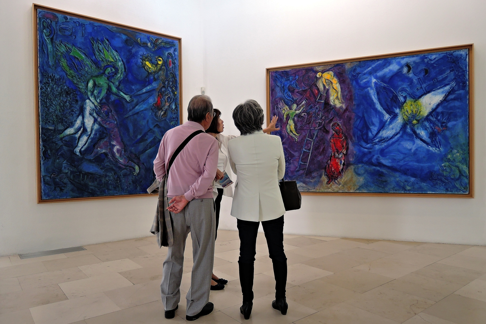 Национальный музей Марка Шагала, экспозиция