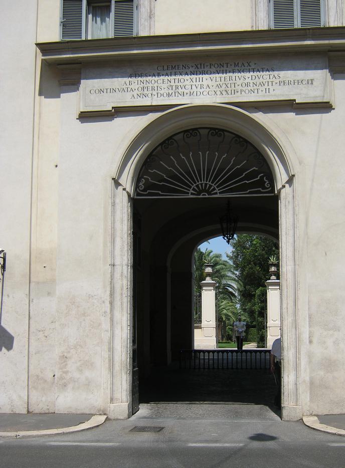Старинная арка в Риме.JPG