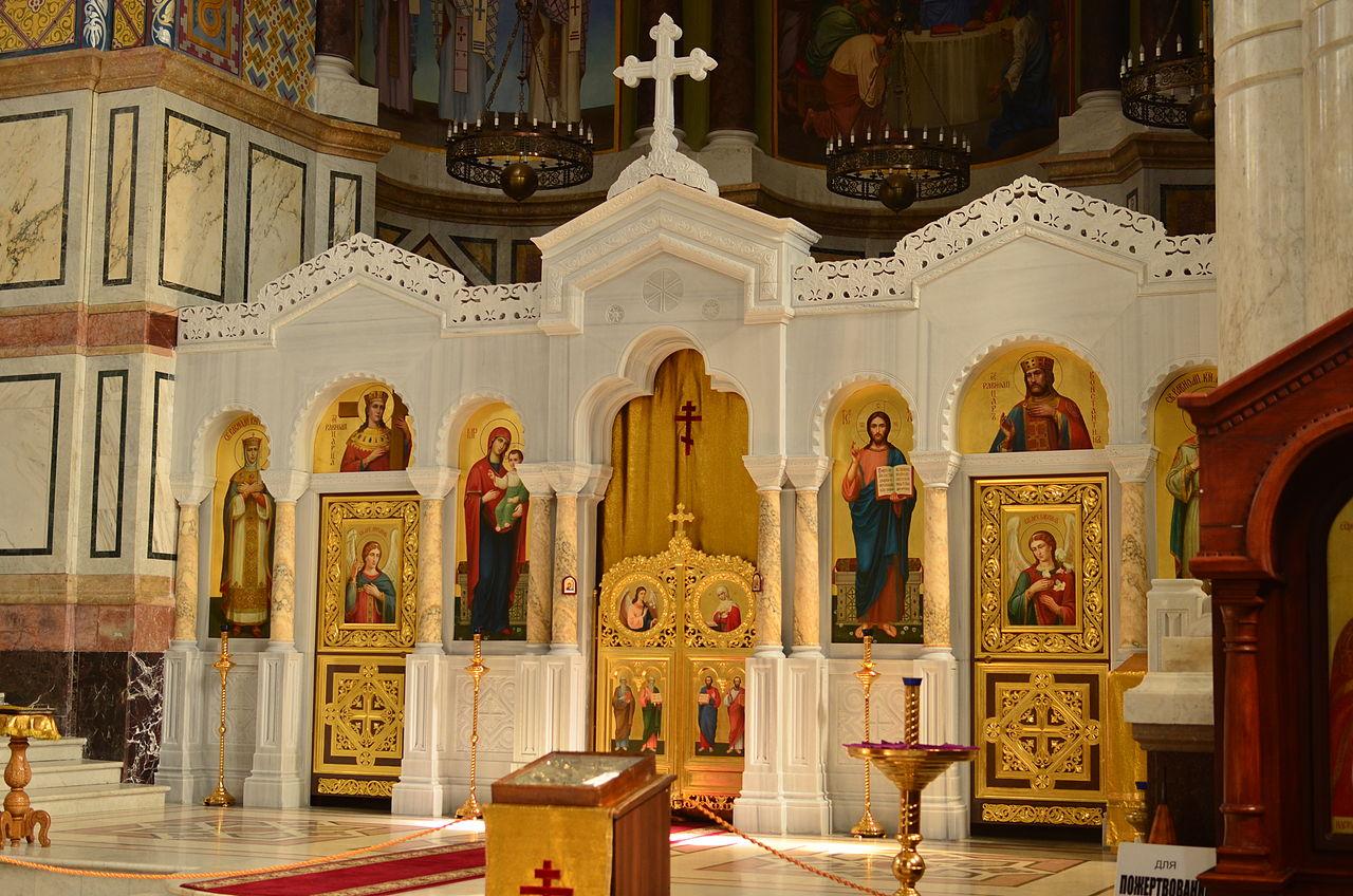 Адмиралтейский собор Святого Владимира, верхний храм