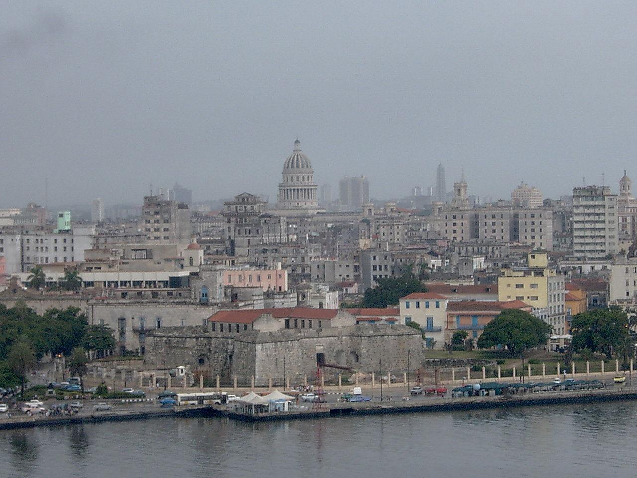 Вид на крепость Ла-Реаль-Фуэрса, Гавана