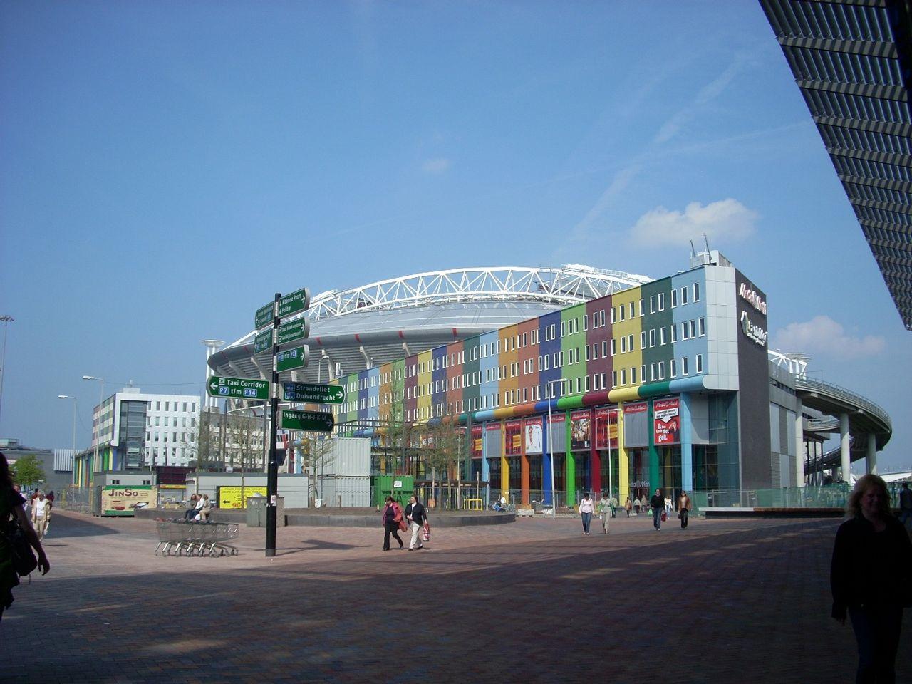 Вид на стадион Амстердам Арена