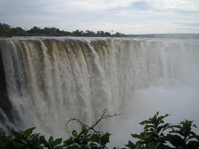 Водопад в Ботсване