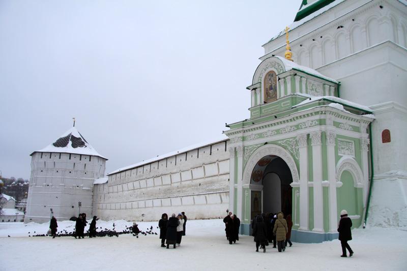 Вход в Троице-Сергиеву лавру, Сергиев Посад, Россия