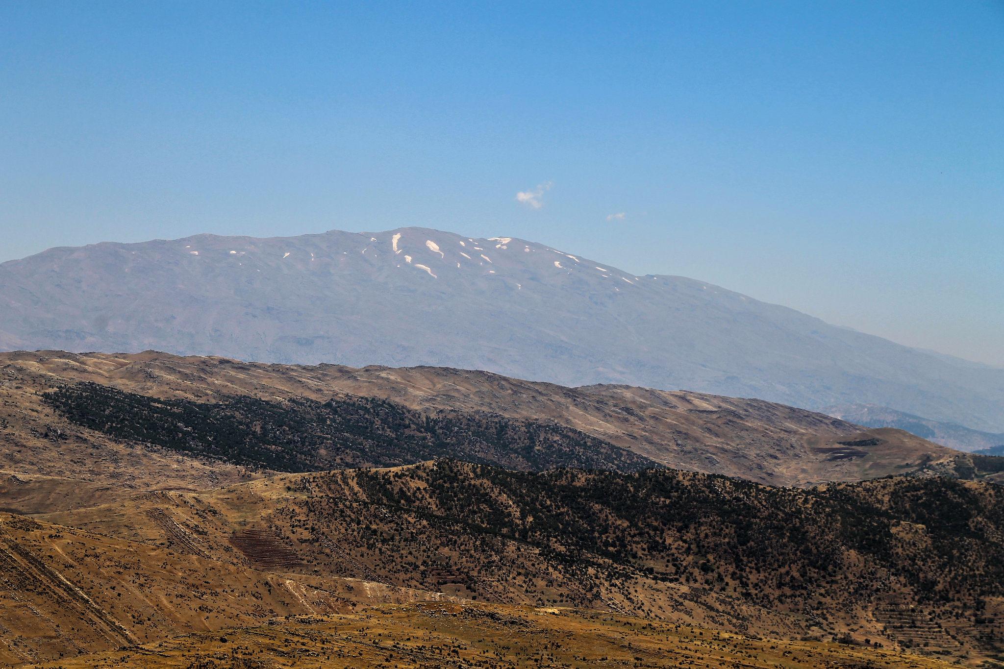 Гора Хермон, Голанские высоты, Израиль