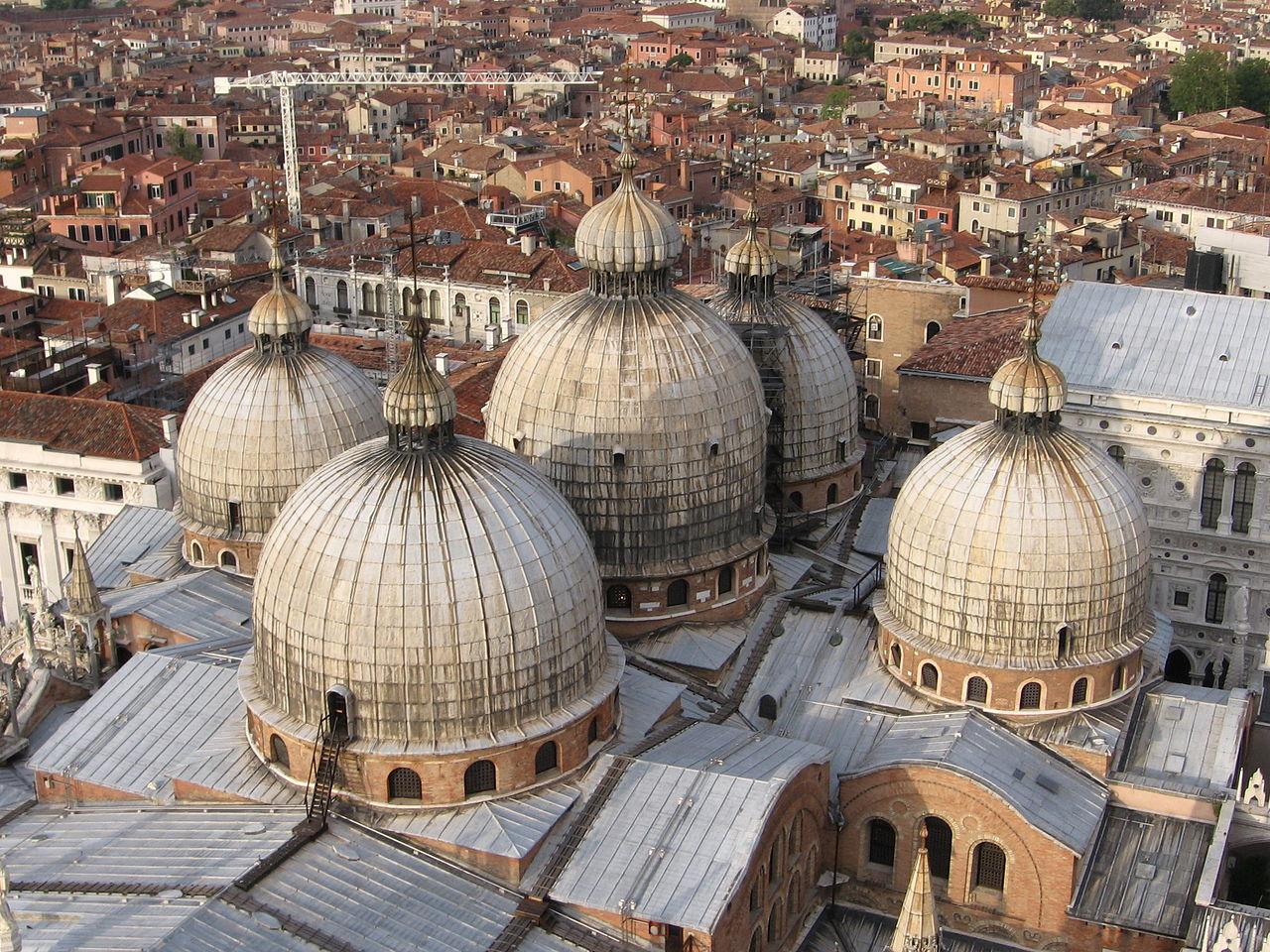 Купола собора Сан-Марко