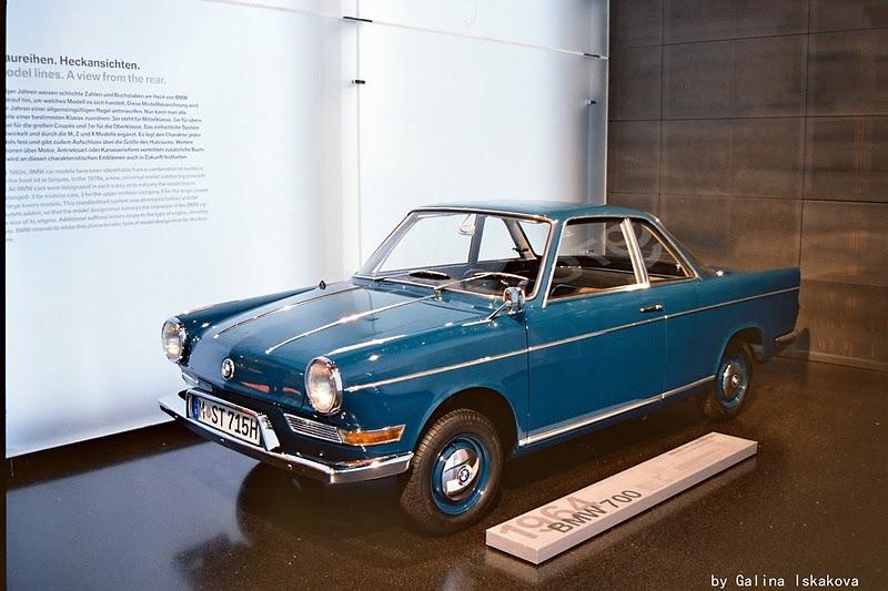 BMW 700, музей BMW
