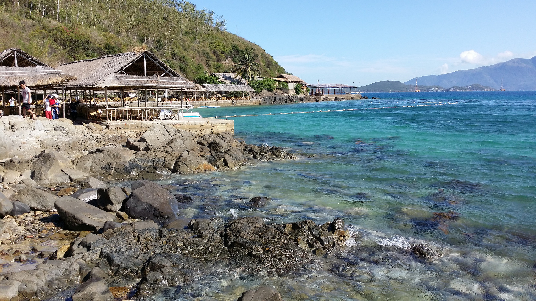 Берег острова Хон-Мун, Вьетнам