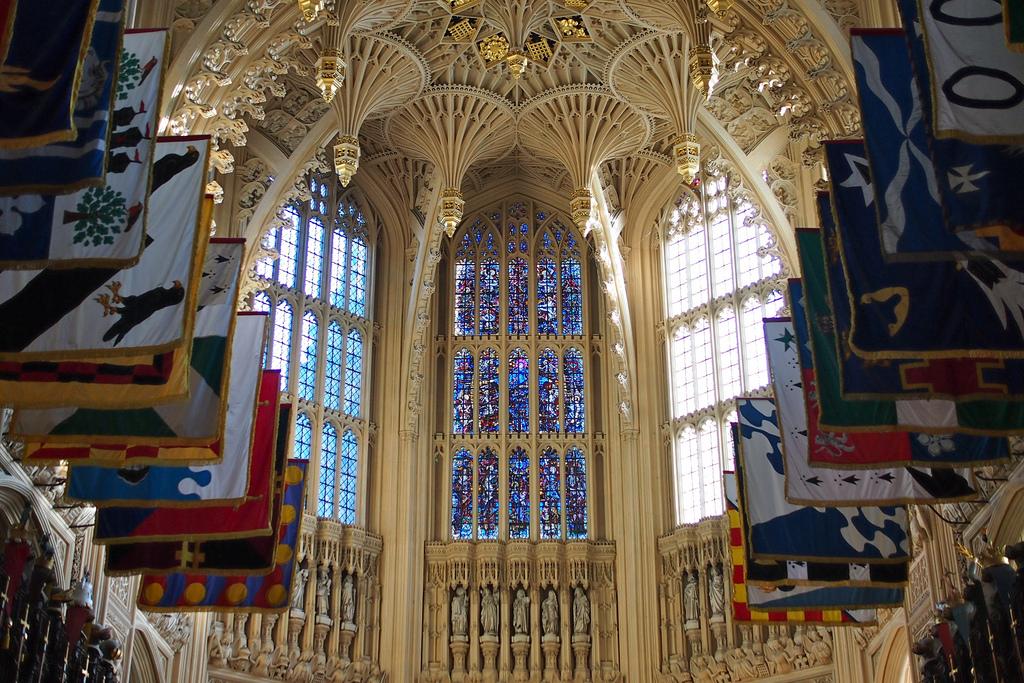 Витражи, Вестминстерское аббатство, Лондон