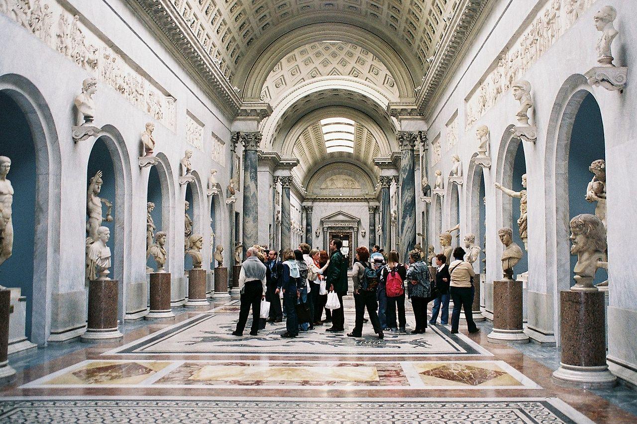 Музейный комплекс Ватикана, Braccio Nuovo