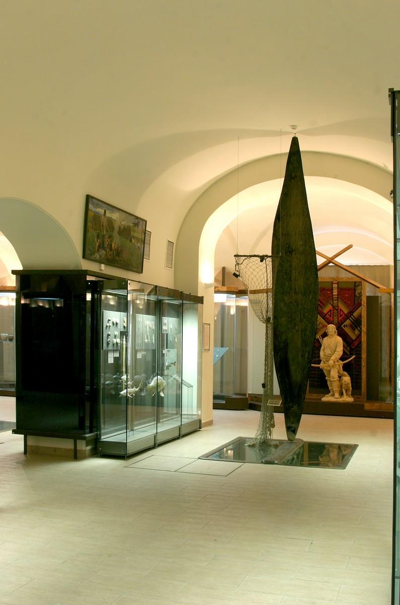 Национальный музей Республики Татарстан, лодка