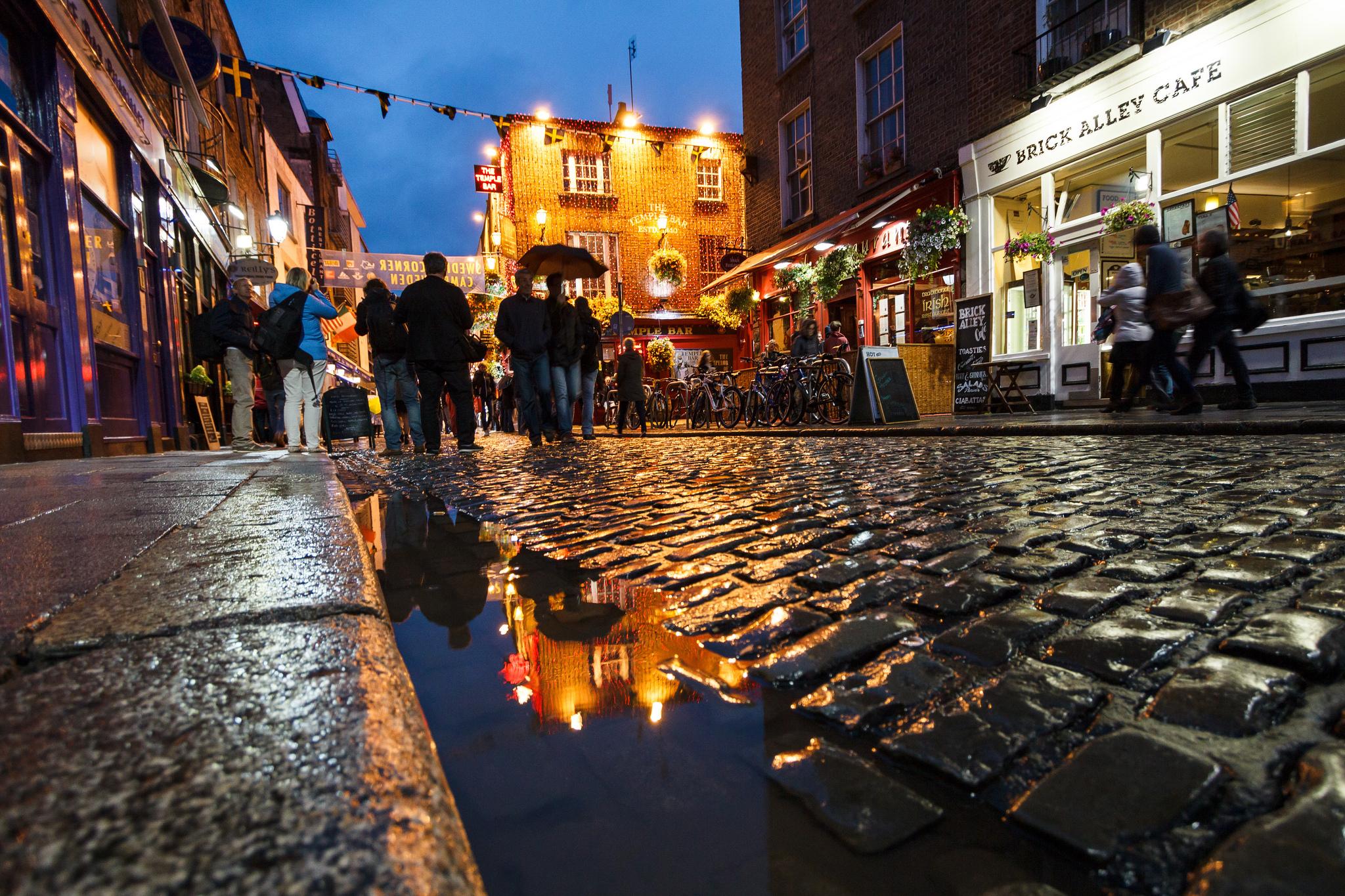 Brick Alley Cafe, Темпл-Бар, Дублин