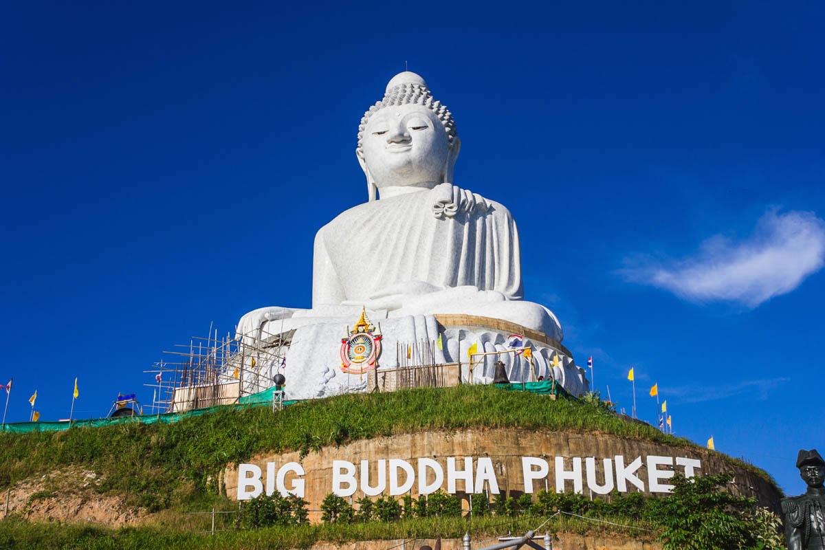 Гигантская статуя Будды, Пхукет