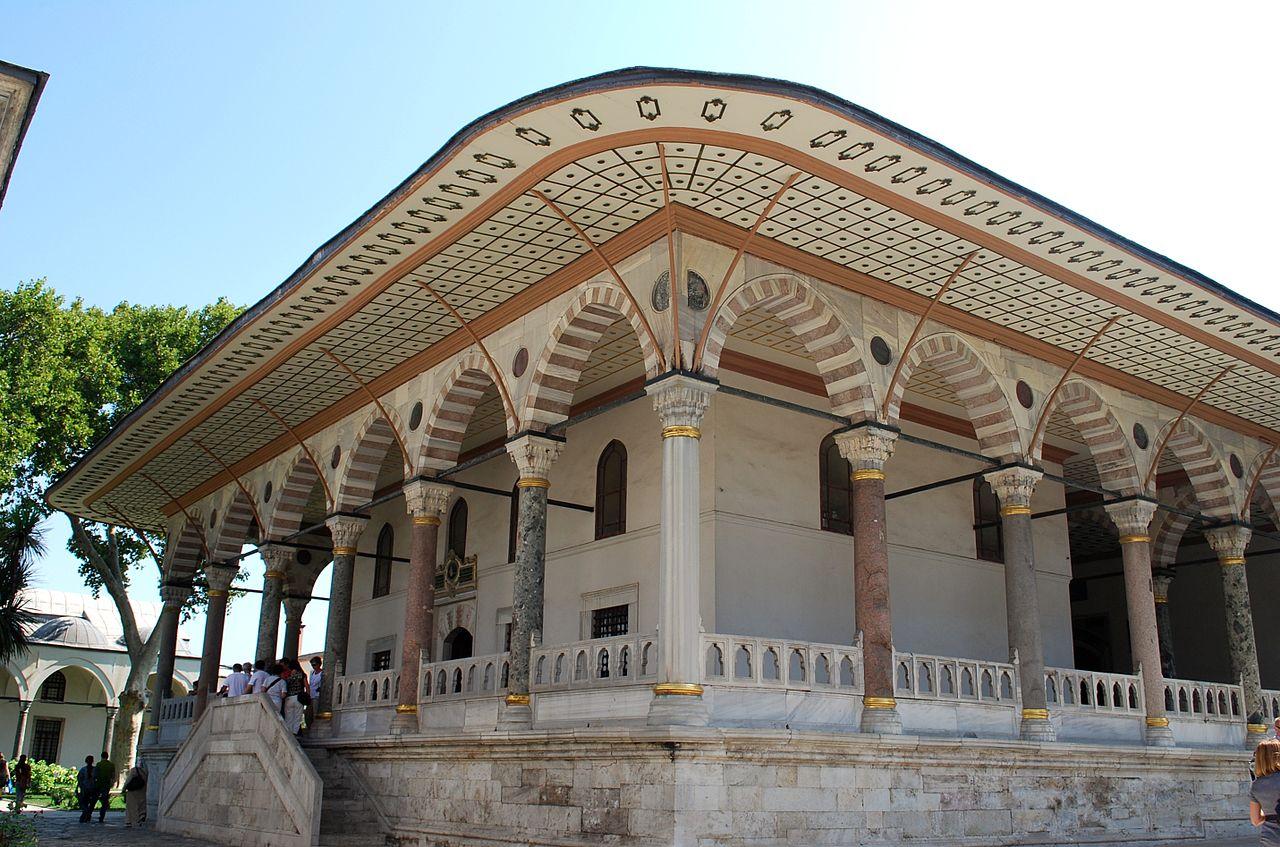 Дворец Топкапы, галерея Зала приемов султана