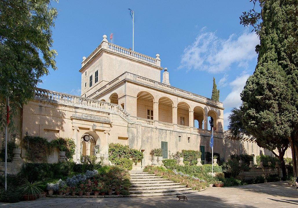 Дворец и сад Сан-Антон