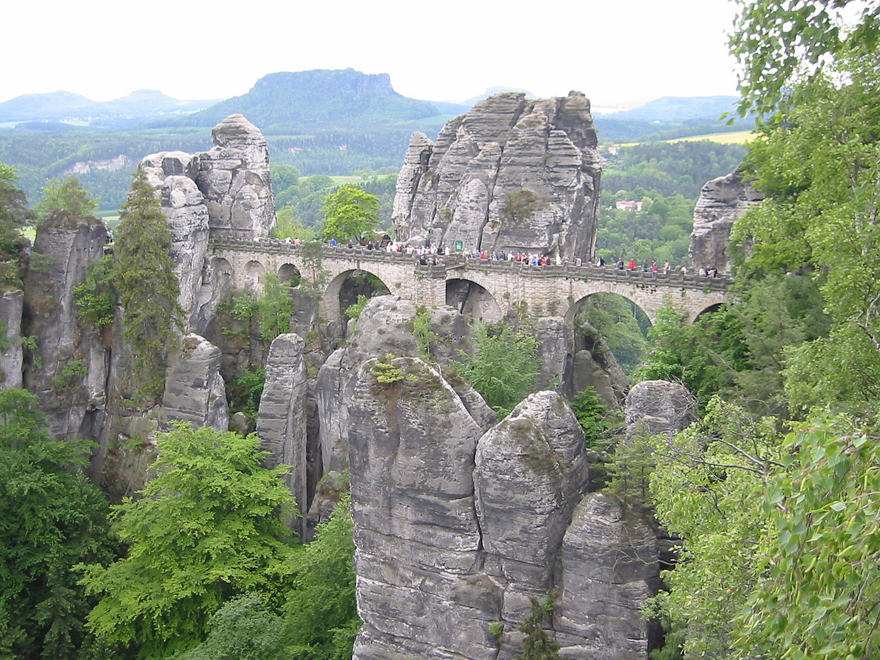 Саксонская Швейцария, скальный замок Нойратен
