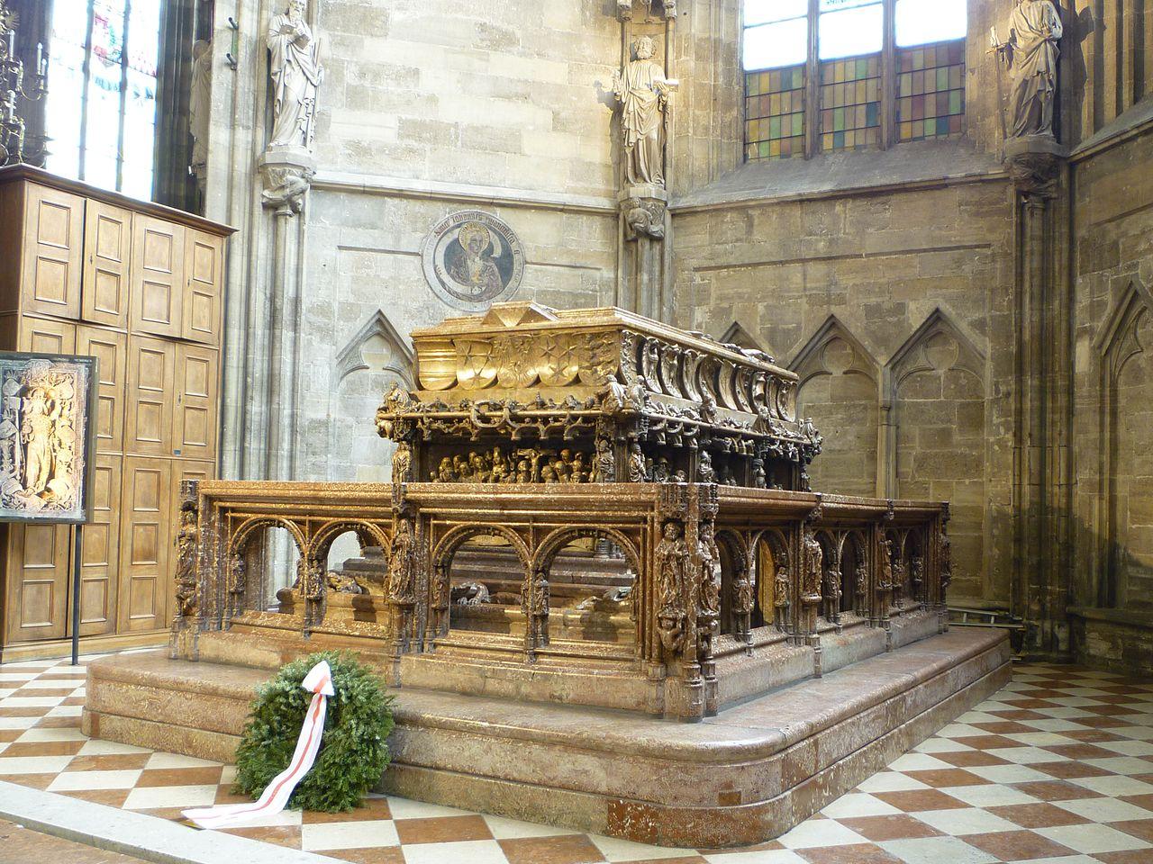 Собор Св. Стефана, усыпальница Фридриха III