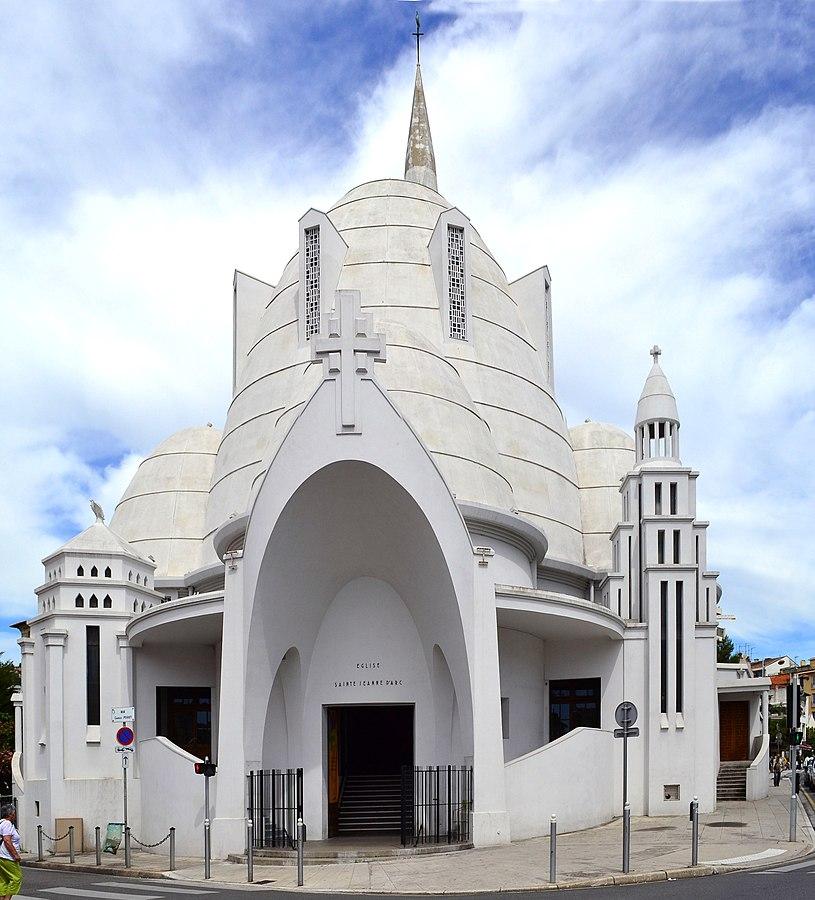 Церковь Св. Жанны д'Арк в Ницце
