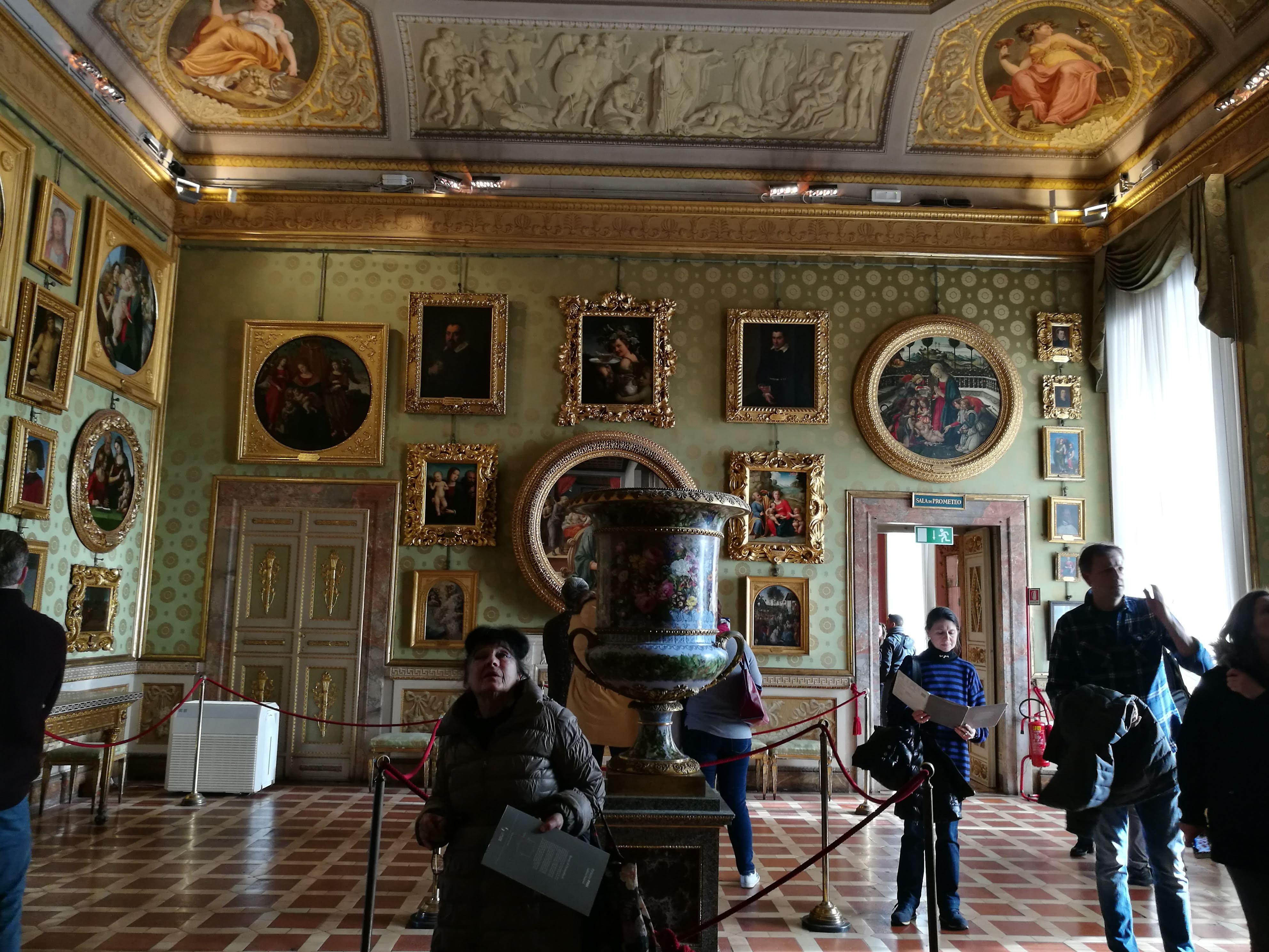 Экспозиция во дворце Палаццо-Питти, Флоренция