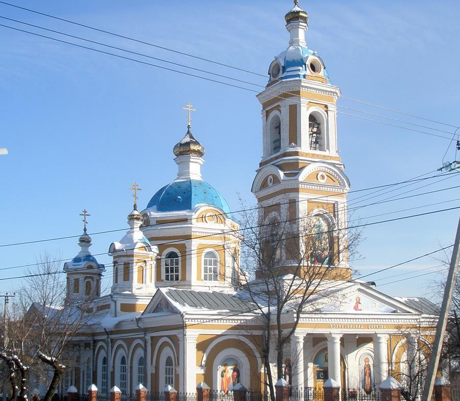Вознесенский храм Курска