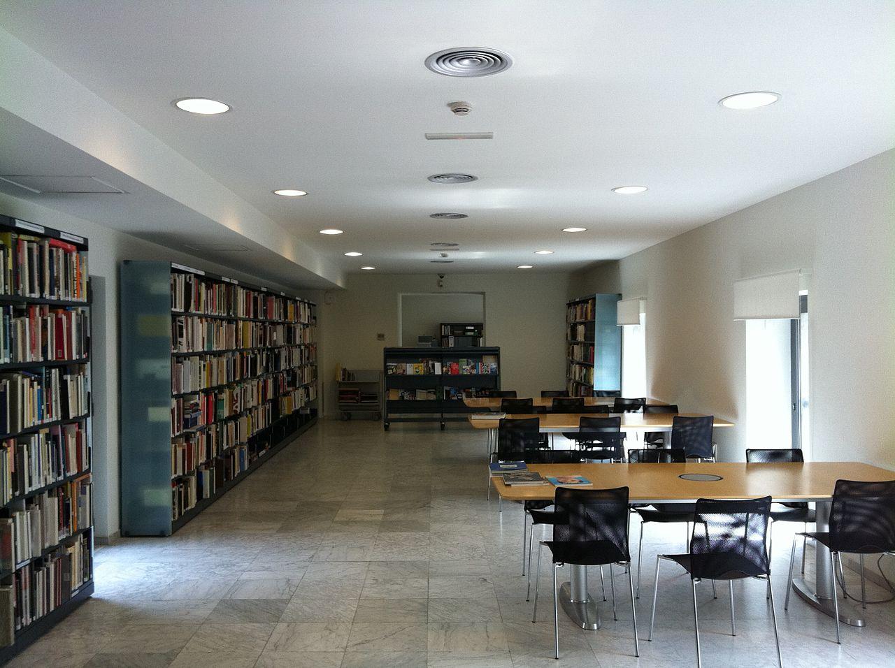 Музей Пикассо в Барселоне, библиотека