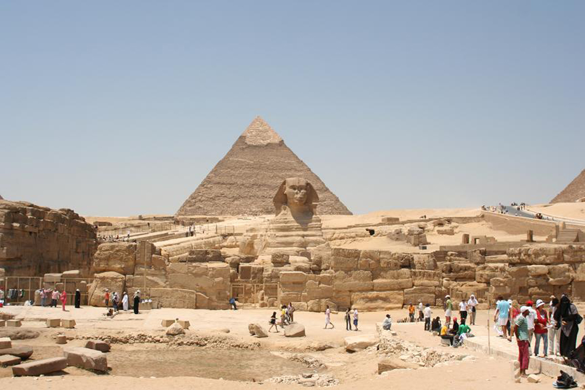 Древние пирамиды Египта