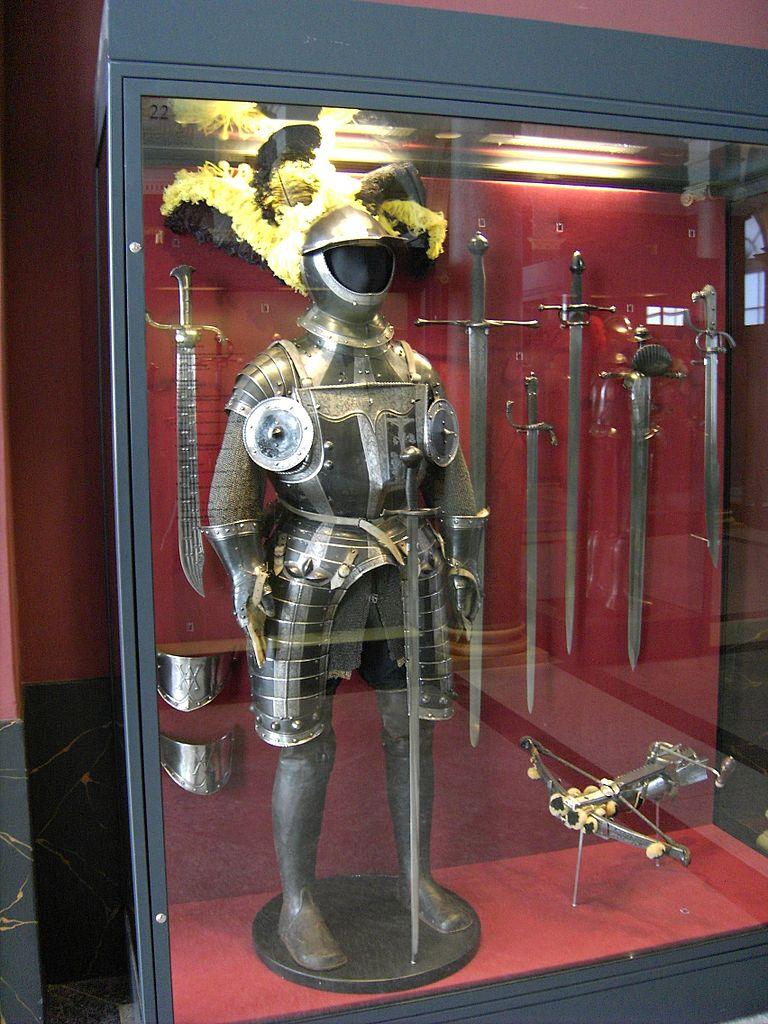 Дрезденская оружейная палата, латы