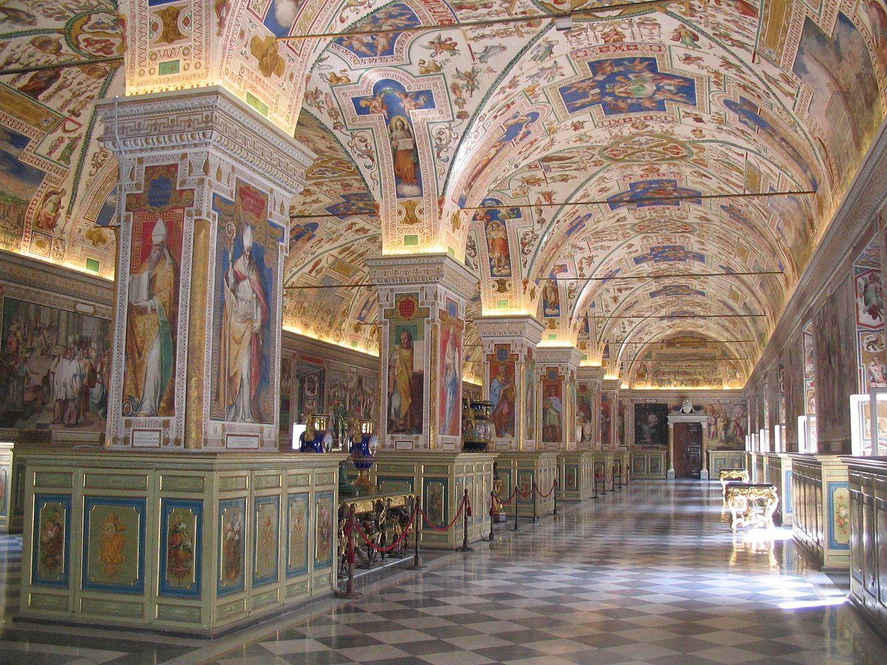 Музейный комплекс Ватикана, Ватиканская библиотека