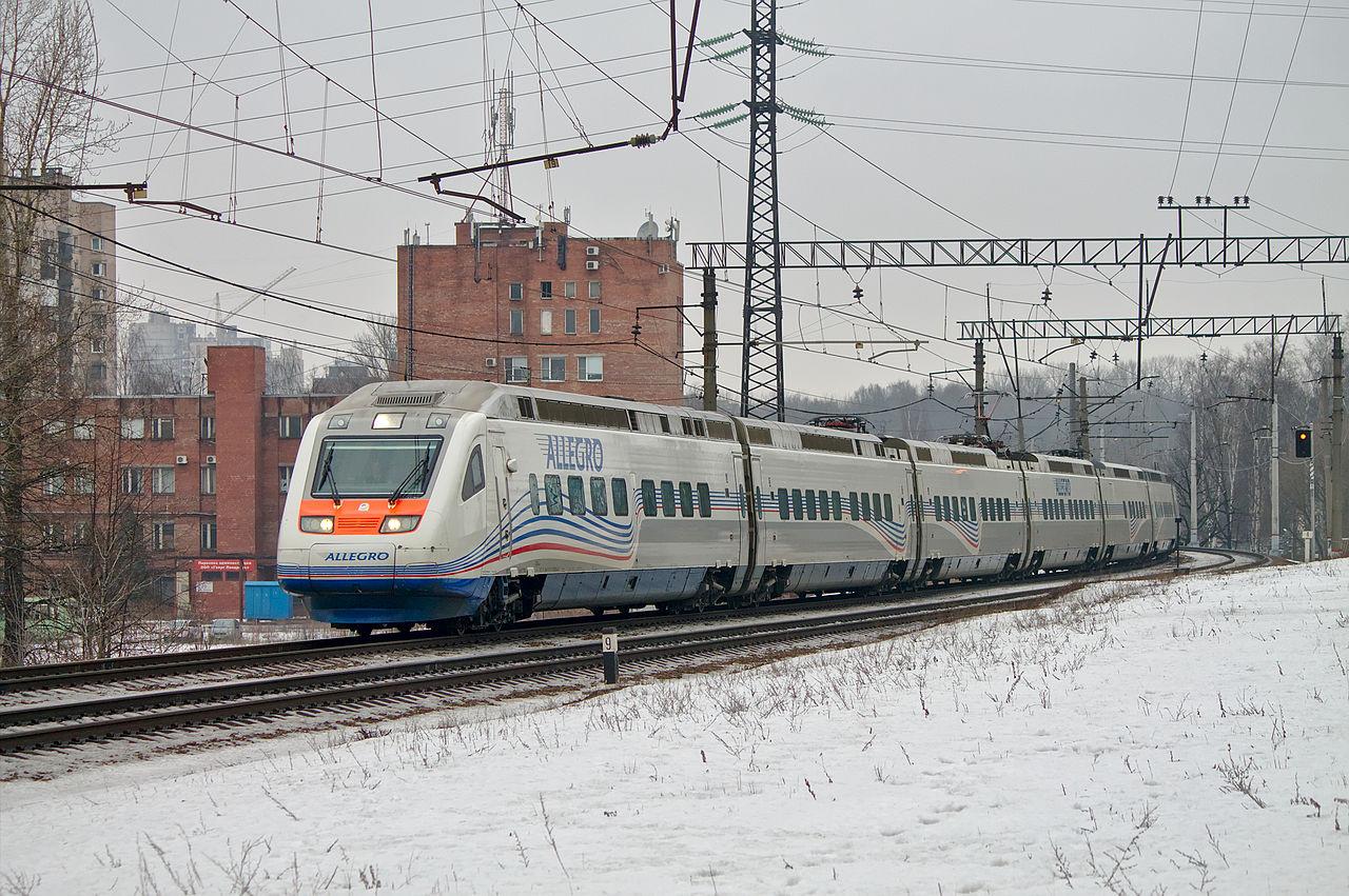 Скоростной поезд «Аллегро», Санкт-Петербург-Финляндский