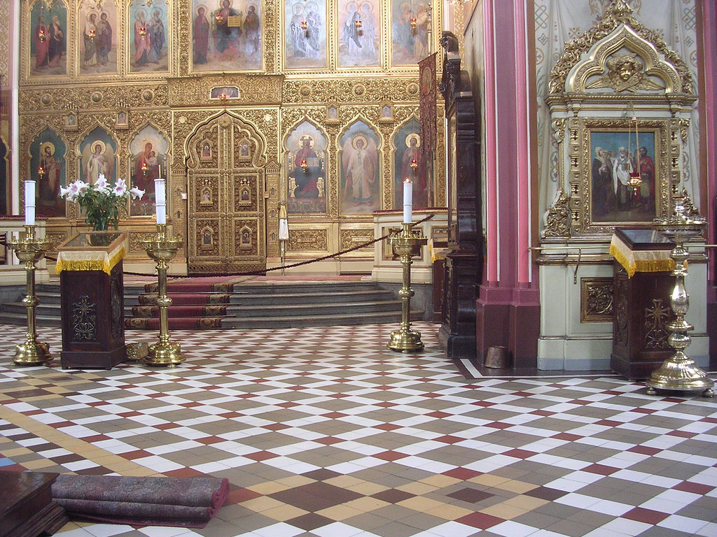 Собор Александра Невского в Таллине, интерьер