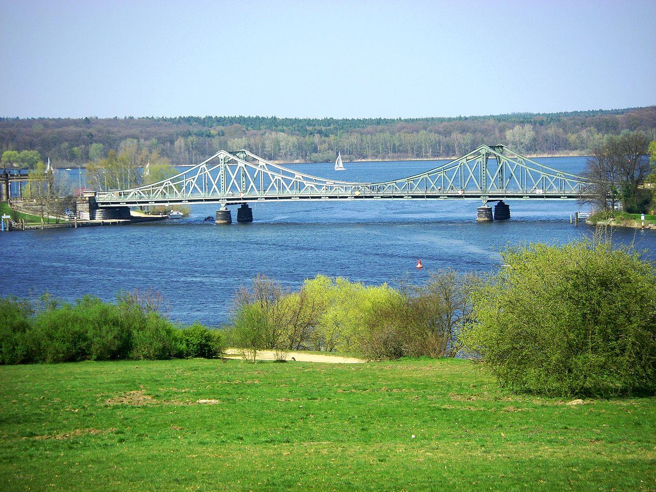 Глиникский мост через реку Хафель